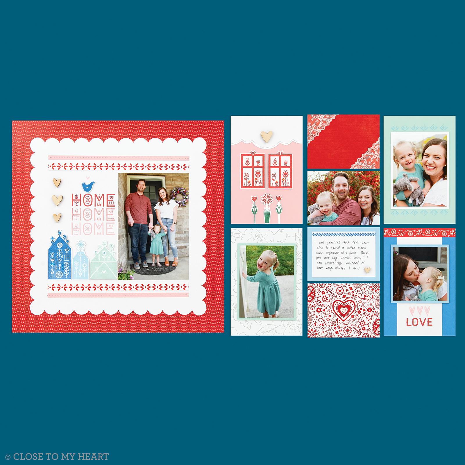 April 2021 Stamp of the Month: Scandinavian Folk Art Greetings