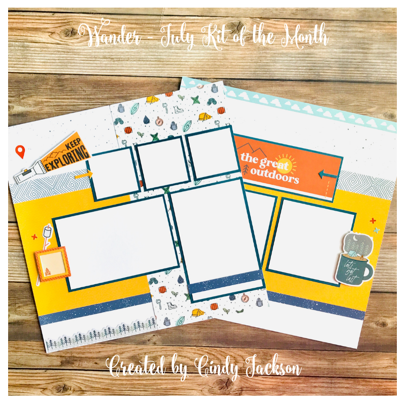 July Kit of the Month: Wander