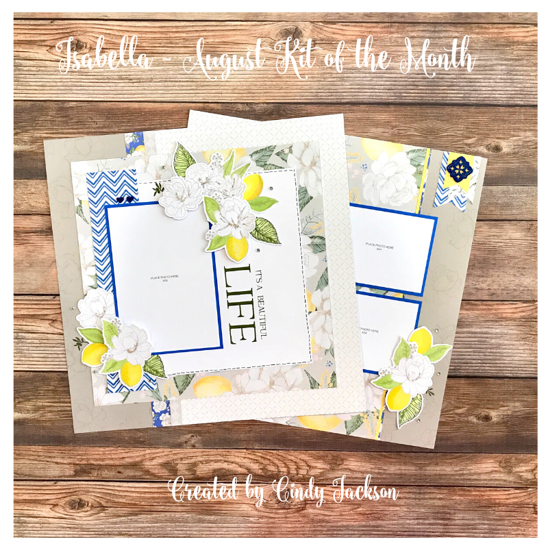 August Kit of the Month: Isabella
